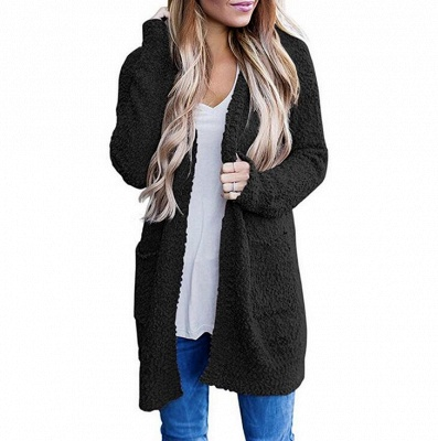 Black women coat | Women's coats winter_5