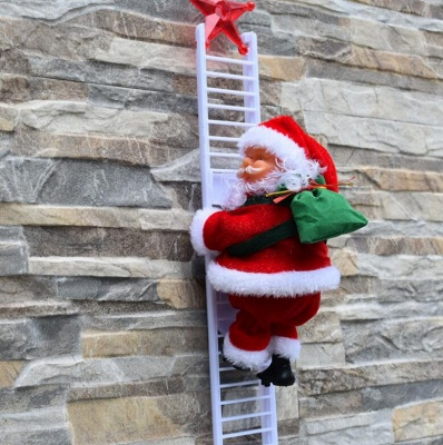 Climbing Santa Claus gift_7