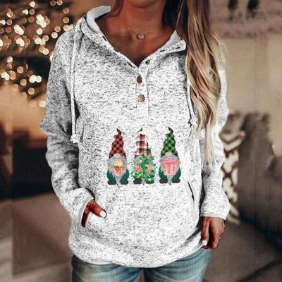 Lustige Weihnachtspullover Damen | Hoodie Bedrucken_5