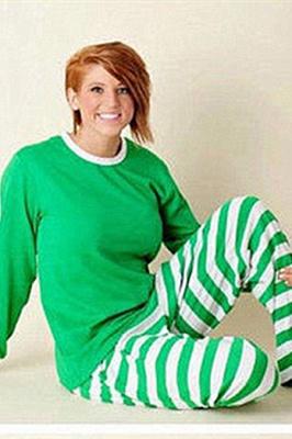 Weihnachten Schlafanzug Damen | Warmer Winter Pyjama_8