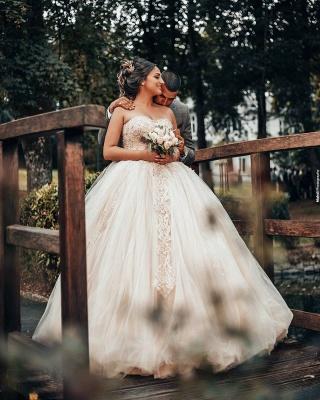 Prinzessin Brautkleider Online | Hochzeitskleid Umstandmoden_3