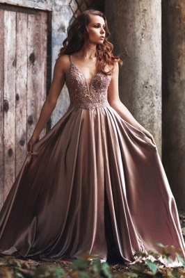 Simple evening dresses long cheap | Prom dresses online_1