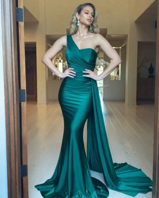 Evening dresses long green | Prom dresses evening wear online