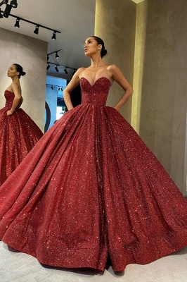 Beautiful red evening dresses | Evening wear ladies_2