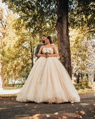 Prinzessin Brautkleider Online | Hochzeitskleid Umstandmoden_2