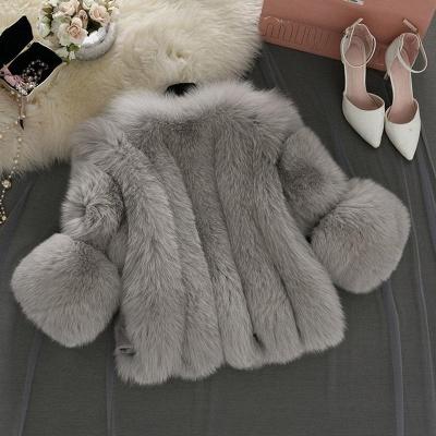Fur women coat white winter coat cheap_12