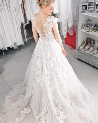 Designer Boho Wedding Dresses A line | Wedding dresses lace_3