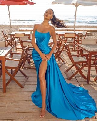 Abiballkleider Lang Günstig | Abendkleid Blau_2