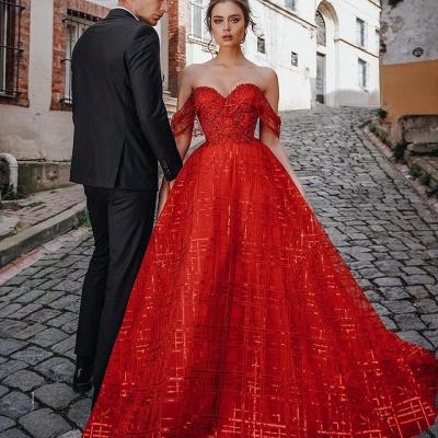 Schöne Abendkleider Günstig | Abendkleider Lang Rot_2