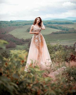 Hochzeitskleid Standesamt A Linie   Schöne Brautkleider_3
