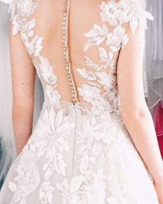 Designer Boho Wedding Dresses A line | Wedding dresses lace_4