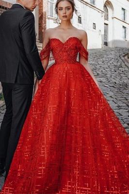 Schöne Abendkleider Günstig | Abendkleider Lang Rot_1