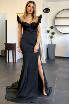 Designer Evening Dresses Long Black | Evening wear online