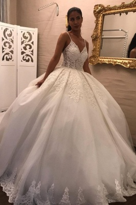 Gorgeous wedding dresses princess | Wedding dresses with sleeves