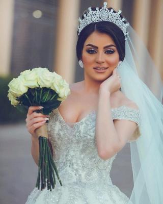 Designer Hochzeitskleider Prinzessin | Brautkleider mit Spitze_3