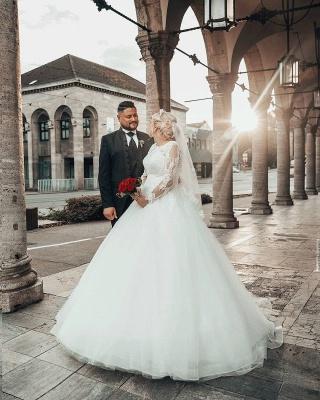 Prinzessin Brautkleider mit Ärmel   Hochzeitskleider Online Kaufen_6