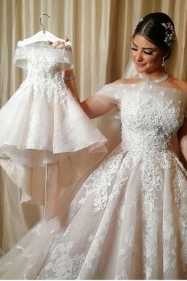 Beautiful wedding dresses A line | Wedding Dresses Lace Online_1