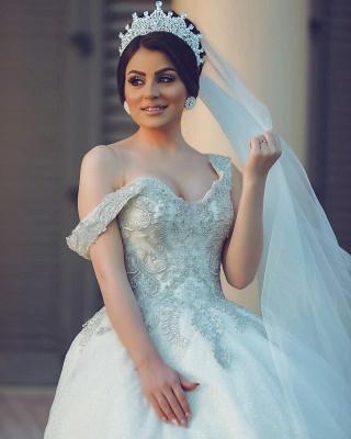 Designer Hochzeitskleider Prinzessin | Brautkleider mit Spitze_5