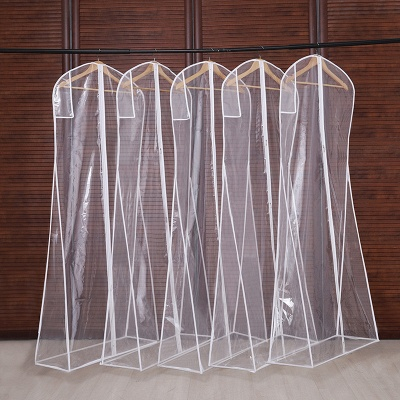 Clear Garment Bags Garment Cover | Long-term storage of long wedding dresses protection