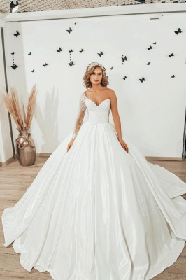 Luxury wedding dresses princess | Wedding dresses with sleeves