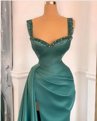 Grüne Abendkleider Lang Günstig | Abiballkleider Online Kaufen_2