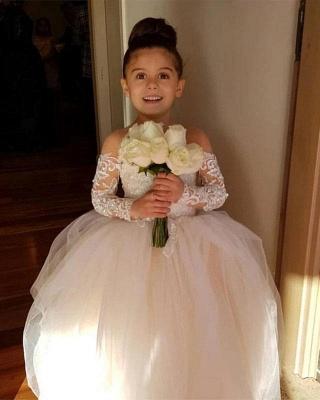 Wunderschöne Blumenmädchenkleider Günstig | Kinder Hochzeitskleider Online_7
