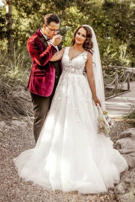 Designer Wedding Dresses A Line | Wedding dresses with lace