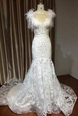 Designer Hochzeitskleider Meerjungfrau | Spitze Brautkleider Online_2