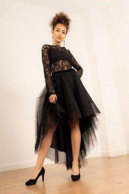 Elegant Cocktail Dresses Short Long | Black prom dresses_1