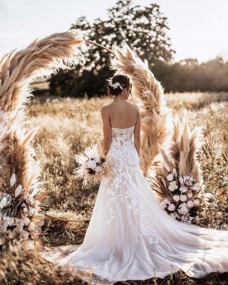Designer Hochzeitskleider Meerjungfrau | Schlichtes Brautkleid Spitze_2
