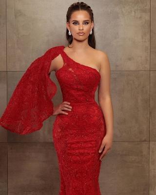 Abiballkleid Lang Rot | Abendkleid Mit Glitzer_2
