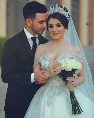 Designer Hochzeitskleider Prinzessin | Brautkleider mit Spitze_4