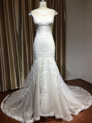 Luxury Brautkleid Meerjungfrau | Hochzeitskleider Spitze_2