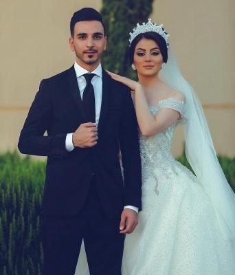 Designer Hochzeitskleider Prinzessin | Brautkleider mit Spitze_2
