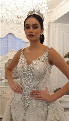 Extravagant wedding dresses A line | Wedding dresses with lace_2