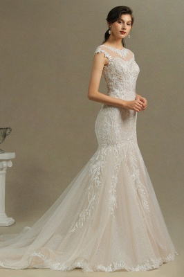 Luxury Brautkleid Meerjungfrau | Hochzeitskleider Spitze_6