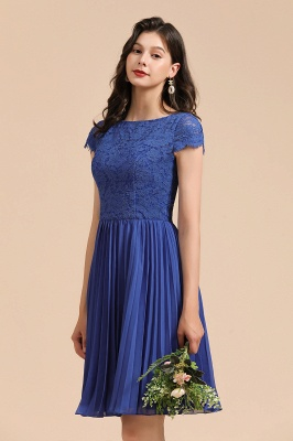 King Blue Bridesmaid Dresses Short | Bridesmaid dresses online