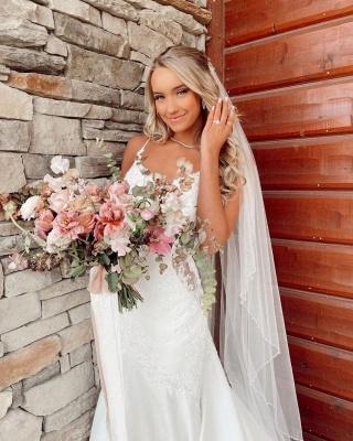 Schöne Brautkleider Meerjungfrau | Hochzeitskleider mit Spitze_4