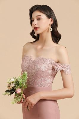 Schöne Brautjungfernkleider Altrosa | Kleider für Brautjungfern Günstig_8