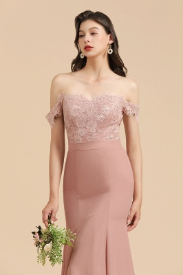 Schöne Brautjungfernkleider Altrosa | Kleider für Brautjungfern Günstig_9