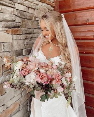 Schöne Brautkleider Meerjungfrau | Hochzeitskleider mit Spitze_2