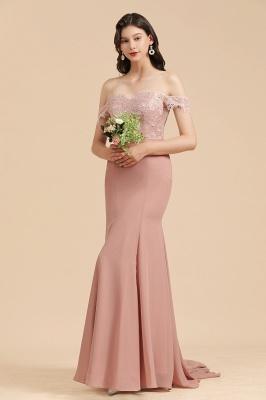 Schöne Brautjungfernkleider Altrosa | Kleider für Brautjungfern Günstig_5