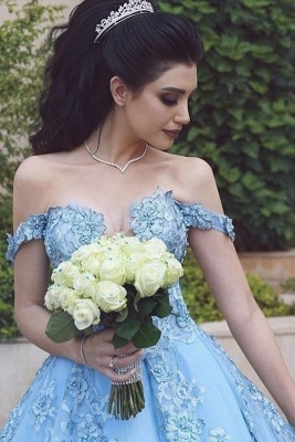 Blue Evening Dresses Long Cheap | Prom dresses with lace