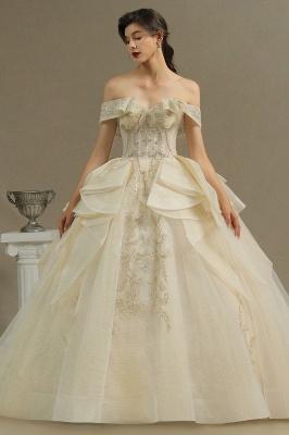 Elegante Hochzeitskleider Prinzessin | Brautkleider mit Spitze_2