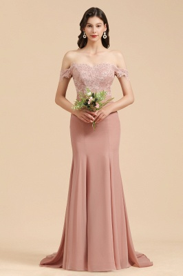 Schöne Brautjungfernkleider Altrosa | Kleider für Brautjungfern Günstig