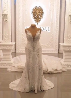 Designer Brautkleid A linie Tarnung | Extravagante Hochzeitskleider Online_6