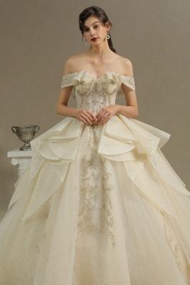 Elegante Hochzeitskleider Prinzessin | Brautkleider mit Spitze_3