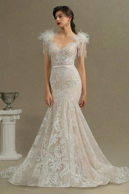 Designer Hochzeitskleider Meerjungfrau | Spitze Brautkleider Online_3
