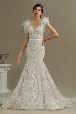 Designer wedding dresses mermaid | Lace wedding dresses online