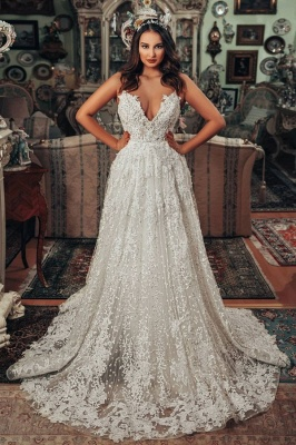 Gorgeous wedding dresses A line | Wedding dresses lace